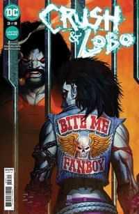 Crush and Lobo #3 CVR A Bernard Chang