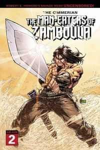 Cimmerian Man-eaters Of Zamboula #2 CVR A Marion