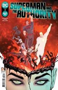 Superman And The Authority #3 CVR A Mikel Janin