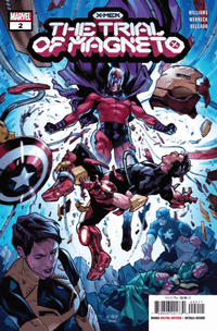 X-men Trial Of Magneto #2