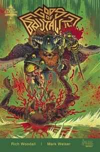 Gods Of Brutality #2 CVR B Rich Woodall
